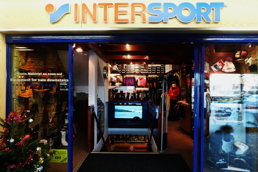 Location de ski Intersport La Plagne Centre